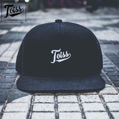 TOISS ロゴキャップ・帽子黒