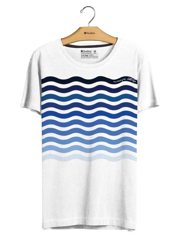HUEBRA(ウエブラ)Tシャツ ondas