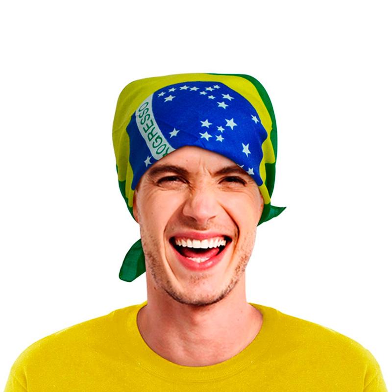 ブラジル国旗バンダナ