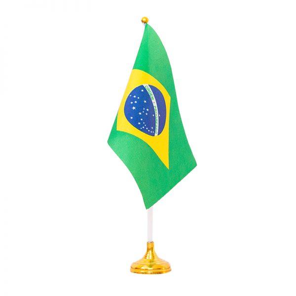 置き型ブラジル国旗