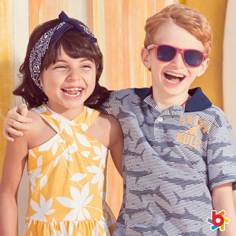 brandili 2018 女の子ドレスと男の子ポロシャツ