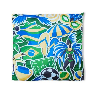 ブラジルデザインクッションカバー