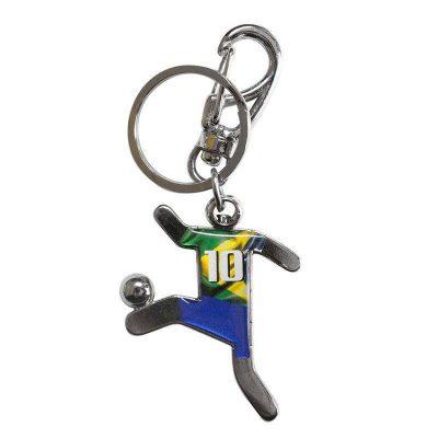 ブラジルサッカー選手キーホルダー