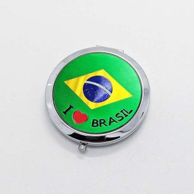 ブラジル国旗鏡