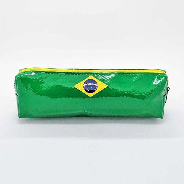 ブラジル国旗ペンケース