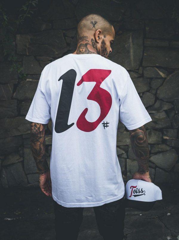 Toiss メンズ Tシャツ ホワイト