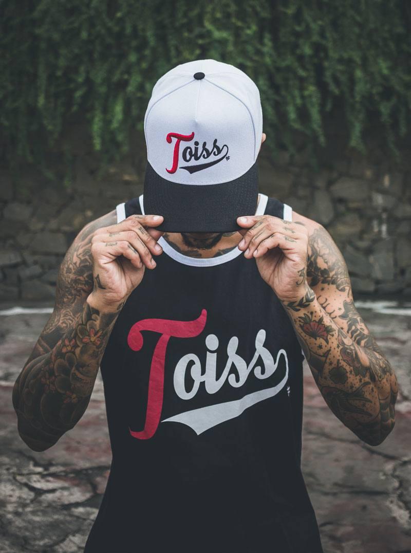 Toiss キャップ ホワイト